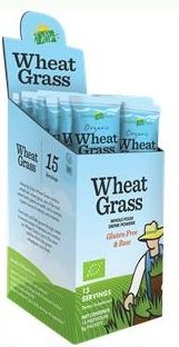 Wheat Grass Packets 15 Count (8g)