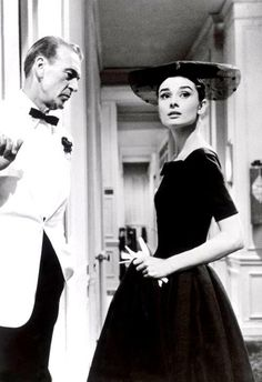 Love in the Afternoon (1957). Saw this a couple weeks ago and that's one more Audrey Hepburn movie I love.