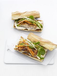 Mahi Mahi Banh Mi lets you subsitute red meat with fish without losing any flavor. #FNMag
