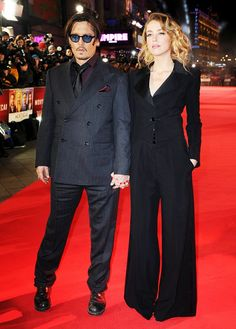 Are Johnny Depp and Amber Heard Hollywood's Most Fashionable Couple? via @WhoWhatWear