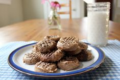 Chocolate Peanutbutter Cookies