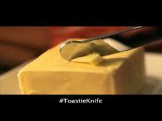 Un cuchillo perfecto para untar la mantequilla,lo que inventan!!!!!!!
