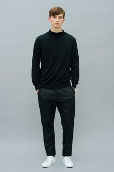 Uli Cashmere Pullover Black Front View Luxury Lifestyle, Cashmere, Women Wear, Product Launch, Normcore, Pullover, Cotton, Collection, Black