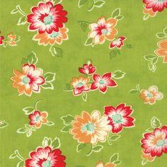 Scrumptious 55072-13 Lime Summer by Bonnie & Camille for Moda