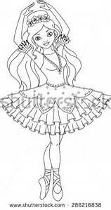 ballerina coloring pages peacock bing images
