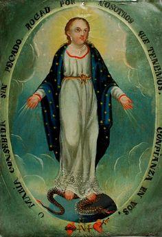 La Purisma - 19th century retablo