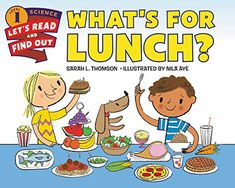 What's for Lunch? by Sarah L. Thomson, available at Book Depository with free delivery worldwide. My Five Senses, Core Learning, Eating Carrots, Cookbooks For Beginners, Math Stem, Understanding The Bible, Whats For Lunch, Every Day Book, Science Books