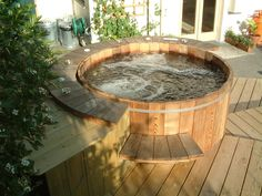 Spa d 39 ext rieur on pinterest spas paris and atelier for Jacuzzi enterre exterieur