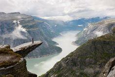 Trolltunga, Norway.  www.northernfjords.com