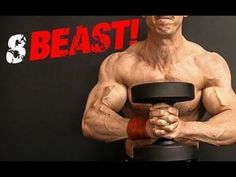 The 8 Best Dumbbell Exercises.Made Better! That said, I did this in a very successful video I made awhile back where I selected the 8 best dumbbell exercises for building muscle and athleticism. Muscle Fitness, Fitness Tips, Fitness Motivation, Muscle Nutrition, Muscle Food, Men's Fitness, Gain Muscle, Build Muscle, Health Fitness