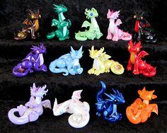 Updated Gem Dragons by DragonsAndBeasties