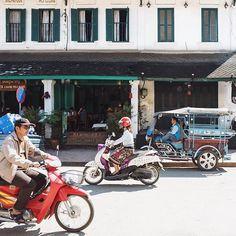 Buzzing traffic on the streets of #luangprabang #laos #colonial #natgeotravel #natgeocreative #natgeoyourshot #lightandshadow #agameoftones #travelasia #travelgram #driveby #doorsandwindows #jj_doorsandwindows #instagood #huffpostgram #lensculture #wanderlust #leica #leicaq #vsco #vscocam #vscoearth by erfilipink. lightandshadow #vscoearth #driveby #natgeoyourshot #jj_doorsandwindows #travelasia #vsco #wanderlust #colonial #luangprabang #huffpostgram #instagood #agameoftones #natgeocreative…