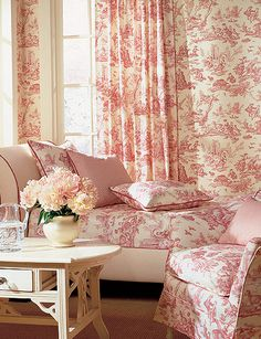 Pink Toile happiness!