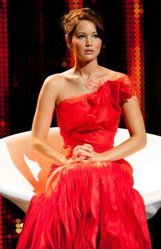 """Katniss Everdeen, the girl on fire!"" -Caesar Flickerman"