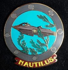 Disney Auctions Le Submarine Nautilus 20 000 Leagues Under The Sea Porthole Pin | eBay