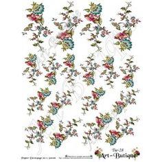 Papier Decoupage - Pisanki  Tw-28