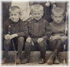 Polish immigrant children circa 1900