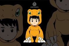 cosplay agumon XD by oddzoddy on DeviantArt Bart Simpson, Snoopy, Cosplay, Deviantart, Artwork, Fictional Characters, Work Of Art, Awesome Cosplay, Comic Con Cosplay