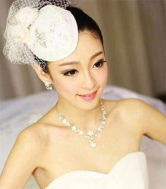 White Fascinators For Wedding - Wedding and Bridal Inspiration White Fascinator, Wedding Fascinators, Bridal, Hats, Inspiration, Beauty, Dresses, Biblical Inspiration, Vestidos