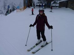 Me on the last day of skiing :'-(