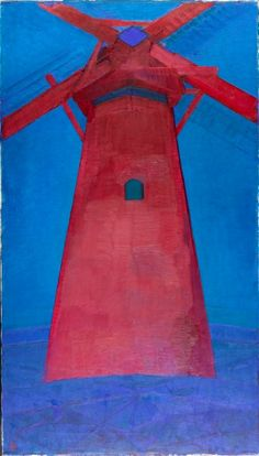 Piet Mondrian, Molen, The Red Mill