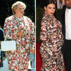 "Robin Williams tweeted ""I think I wore it better"""