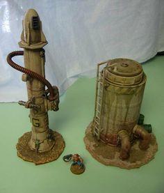 Necromunda Tower and Refinery Terrain - Forum - DakkaDakka