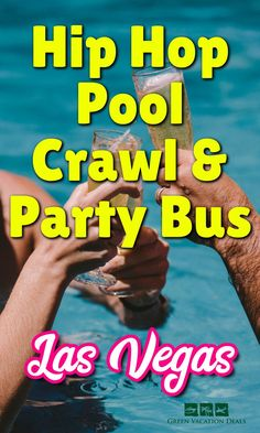 Wondering where to go on your next Las Vegas trip? Check out this coupon & promo code for Las Vegas Hip Hop Pool Crawl & Party Bus. Visit top pool parties, lounges at Tropicana, Mandalay Bay, Tao Beach Club, Rehab, Mirage & other popular locations. #LasVegas #Vegas #LV #Nevada #partybus #poolcrawl #Tao #Tropicana #Mirage #MandalayBay #poolparty #drinkspecials #hiphop #SinCity #whathappensinvegas #vegasbaby Las Vegas Vacation, Vacation Deals, Las Vegas Restaurants, Las Vegas Hotels, Vegas Pools, Pool Parties, Party Bus, Drink Specials, Getting Drunk