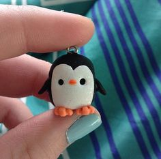 Hey, I found this really awesome Etsy listing at https://www.etsy.com/listing/226472095/polymer-clay-penguin-winter-necklace