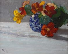 JEH MacDonald | NASTURITUMS | Artsy Franklin Carmichael, Tom Thomson, Group Of Seven, National Art, Still Life Art, Canadian Artists, Art Auction, Art Inspo, Artsy