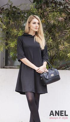 e57655d84b1a Πανέμορφα γυναικεία φορέματα από τη χειμερινή κολεξιόν της ANEL Fashion  στις πιο απίθανες τιμές!