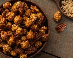 #NationalPecanDay means one thing… Pecan CaramelCrisp from #GarrettPopcorn!