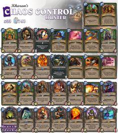 #Hearthstone Control Hunter   S23