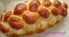 Húsvéti fonott kalács | Anna konyhája Pepperoni, Anna, Bread, Recipes, Food, Brot, Recipies, Essen, Baking