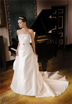 Hitting the right notes in a Helena Quinlan Wedding Dress Traditional Wedding Dresses, One Shoulder Wedding Dress, Notes, Fashion, Moda, Report Cards, Fashion Styles, Notebook, Fashion Illustrations