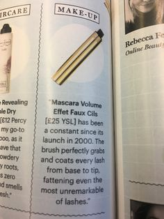 Volume Mascara, Lashes, Product Launch, Make Up, Personalized Items, Beauty, Eyelashes, Makeup, Beauty Makeup