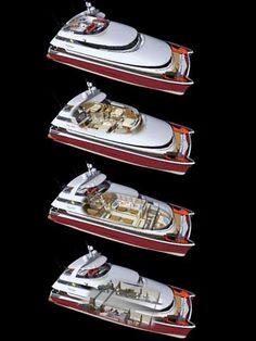 MegaByte 75' – Catamaran Motor Yacht - Click to zoom.