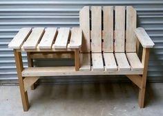 Diy Wood Bench With Table Myoutdoorplans Free 640 x 480