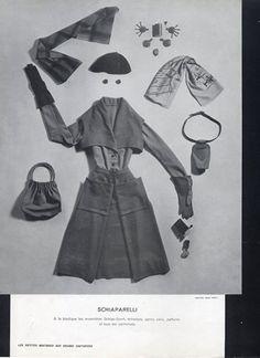"""Amazing!  """"Schiap-Sport"""",....haute couture from Place Vendôme."""