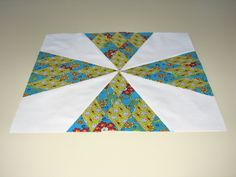 """A traditional block pattern called """"Sugar Loaf.""""  Pieced by Pam Wilson in September 2014."""