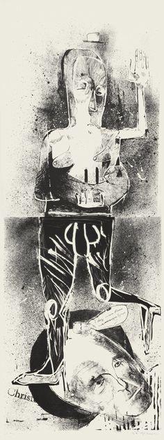 Lithographs set by Patryk Hardziej, via Behance