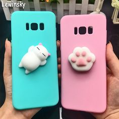 Smarter Shopping, Better Living! Aliexpress.com Galaxy S8, Galaxy Note, Samsung Galaxy, S8 Phone, Soft Candy, Candy Colors, Phone Covers, Cat, Fitness