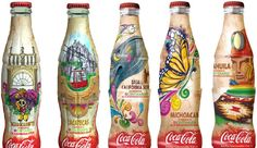 Coca Cola bottle design ( Mexico's Independence Bicentenary )
