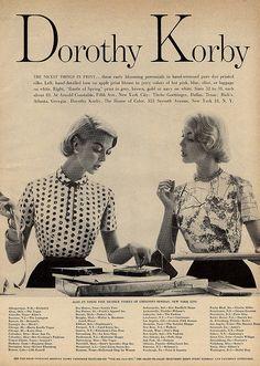 Dorothy Korby tree print? on silk.