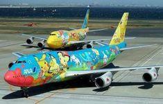 Aviones pintados con gracia