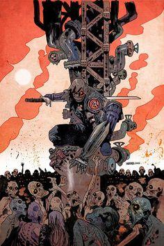 Artist August: James Harren [Art Feature] | Multiversity Comics