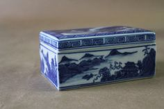 Chinoiserie Porcelain Box