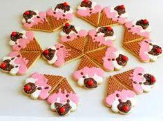 Risultati immagini per ice cream cone cookies