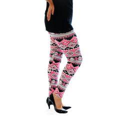 aztec+leggings   Neon Aztec Print Leggings - Printed - Leggings - Clothing