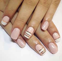 Pink gold lines